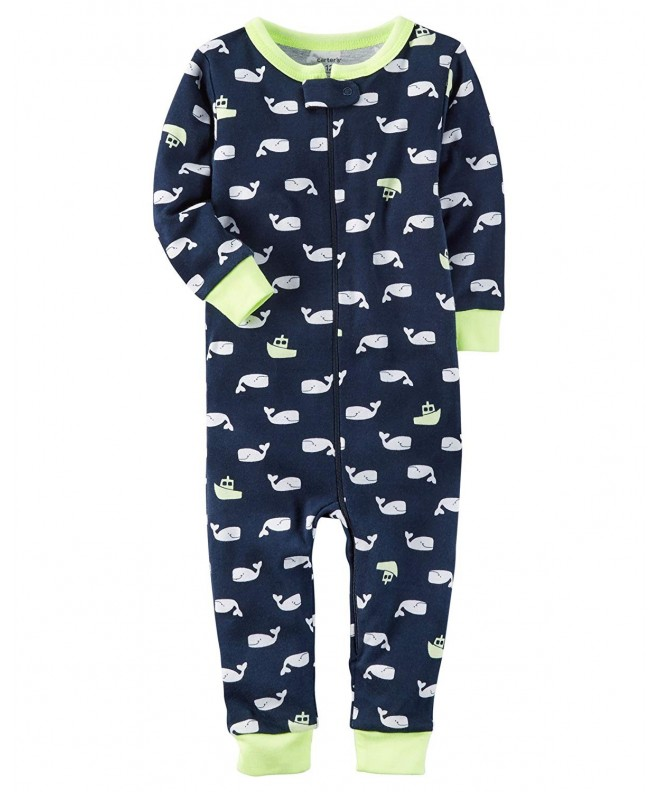 Carters Little 1 Piece Footless Pajamas