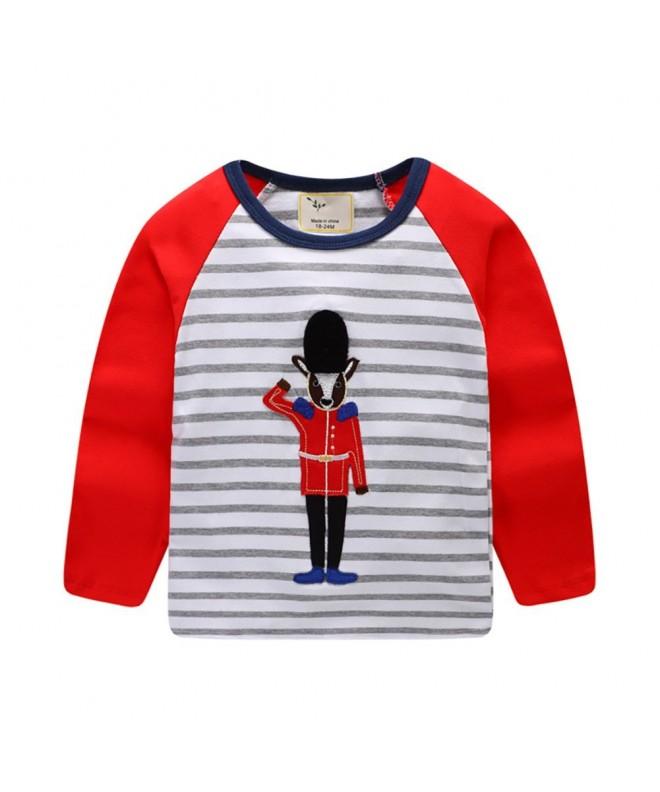 Motteecity Fashion Cartoon Embroidered T Shirt