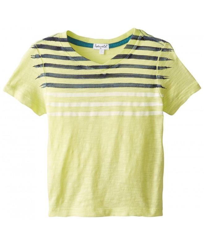 Splendid Short Sleeve Jersey V Neck Toddler