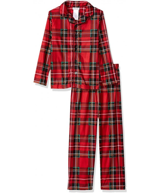 Peas Carrots Holiday Plaid Pajama