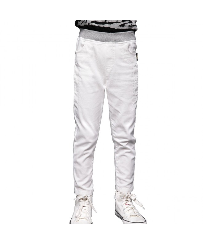 NABER Casual Elastic Waist Trousers