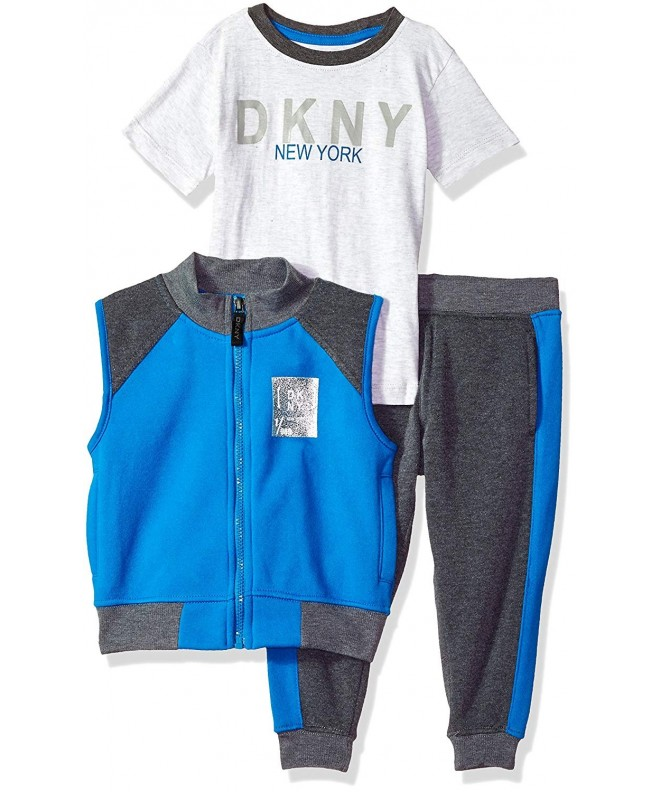 DKNY Boys Knit Shirt Short