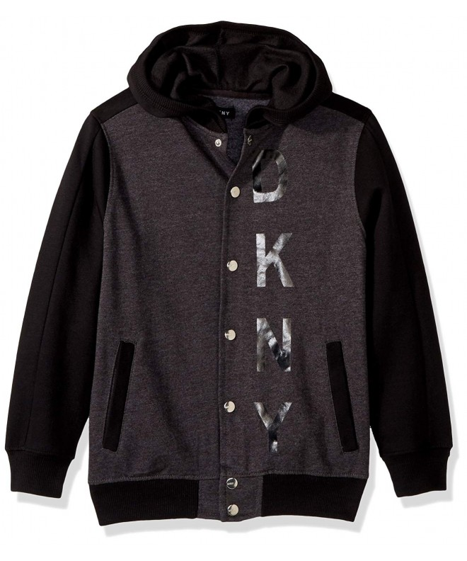 DKNY Front Color Heathered Fleece