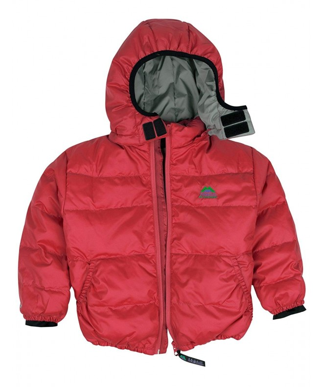 Molehill Hooded Jacket Goose Toddlers