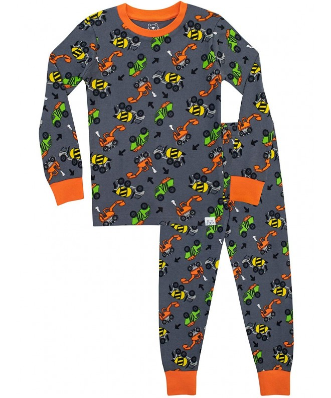 Harry Bear Boys Trucks Pajamas
