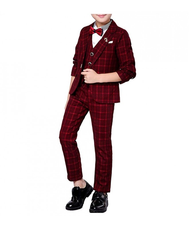 YUFAN Colors Plaid Jacket Pieces