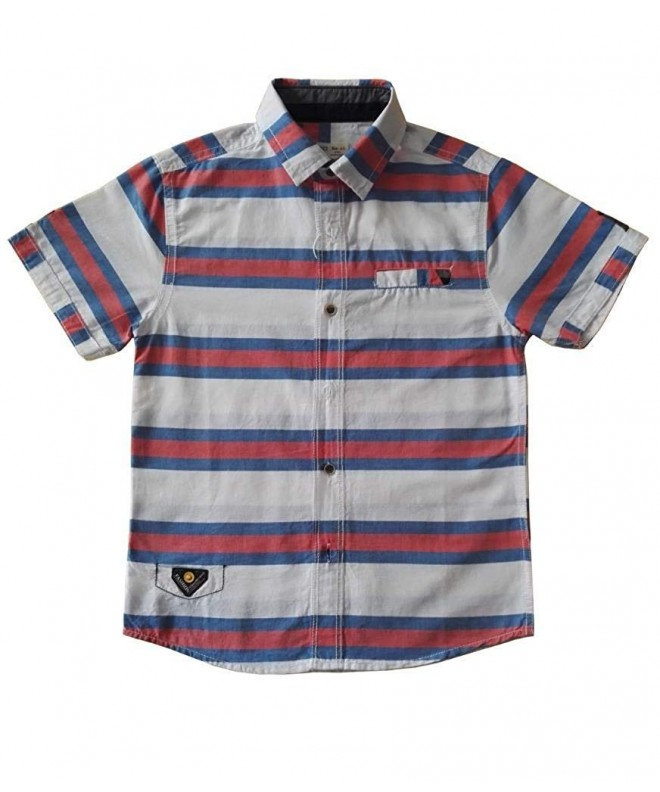 Cneokry Button Short Sleeve Shirt