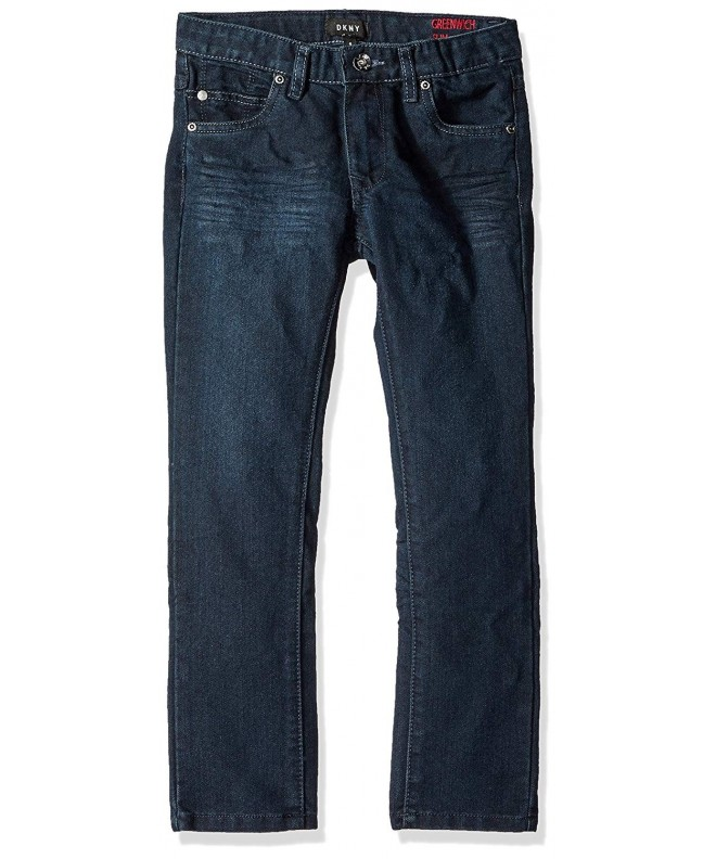DKNY Greenwich Stretch Pocket Denim