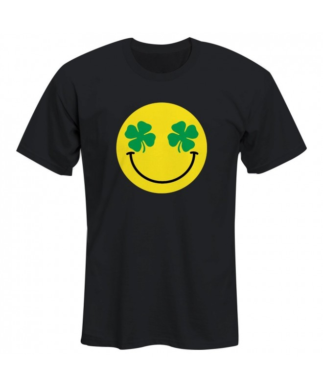 Emoji Smiley Clover Graphic Tshirt