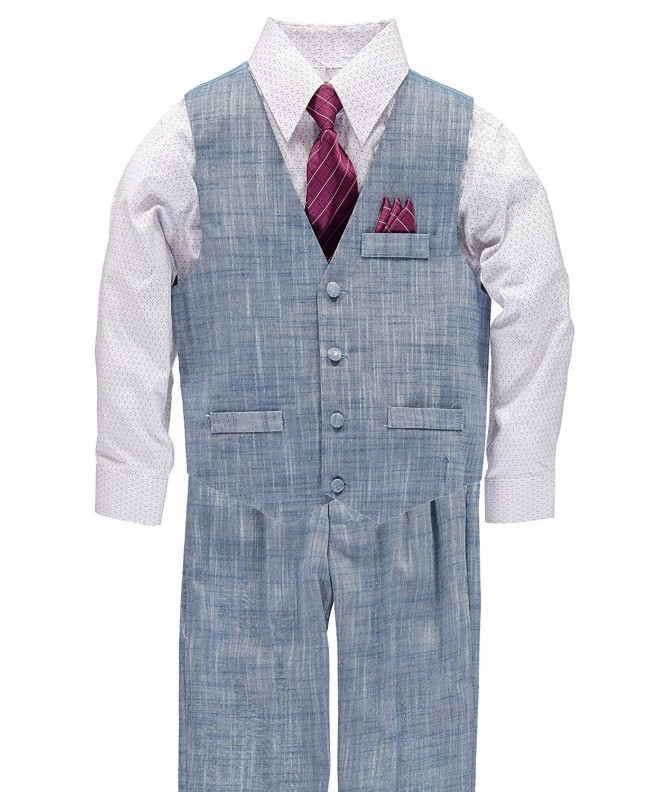 Vittorino Boys Piece Suit Light