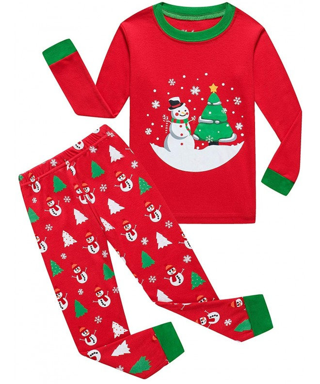 Christmas Pajamas Sleepwear Toddler Children