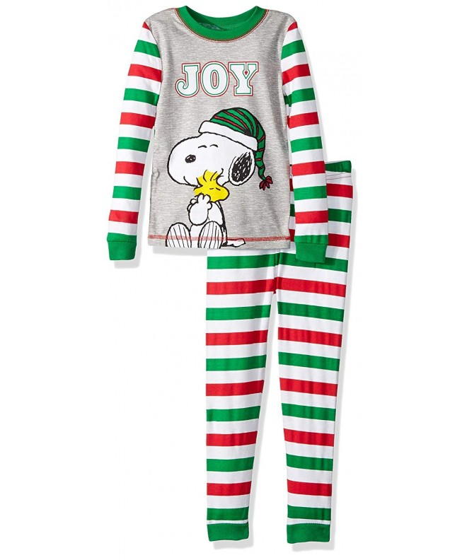 Peanuts Piece Holiday Cotton Pajama