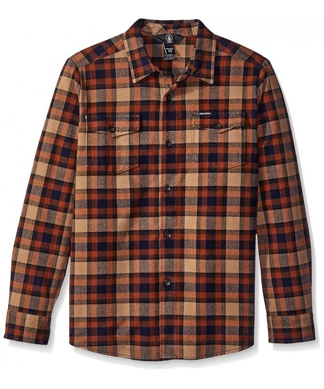 Volcom Martens Flannel Sleeve Shirt