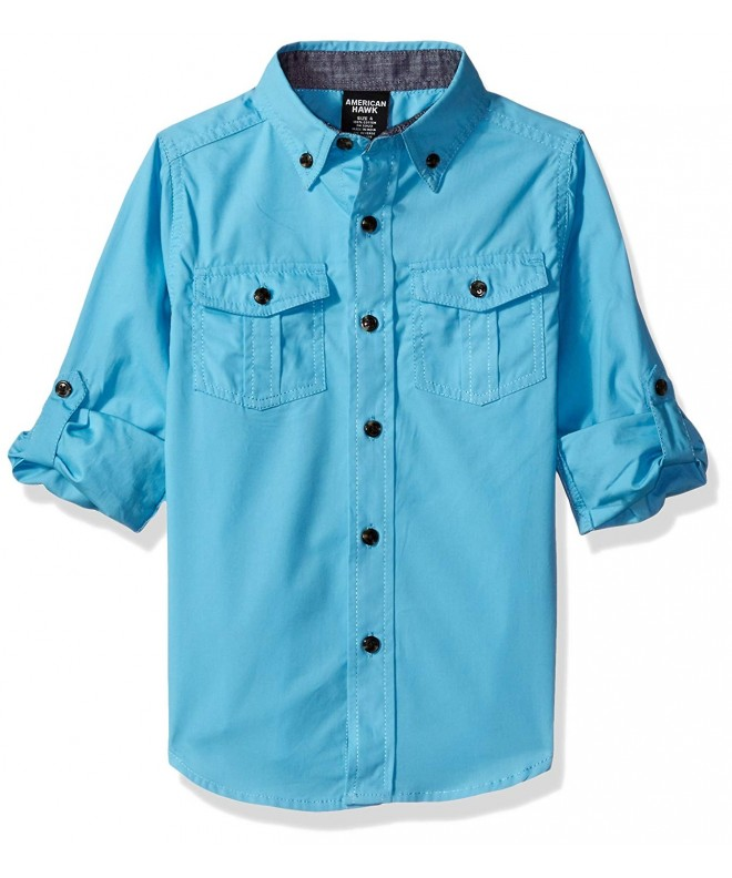 American Hawk Sleeve Chambray Available