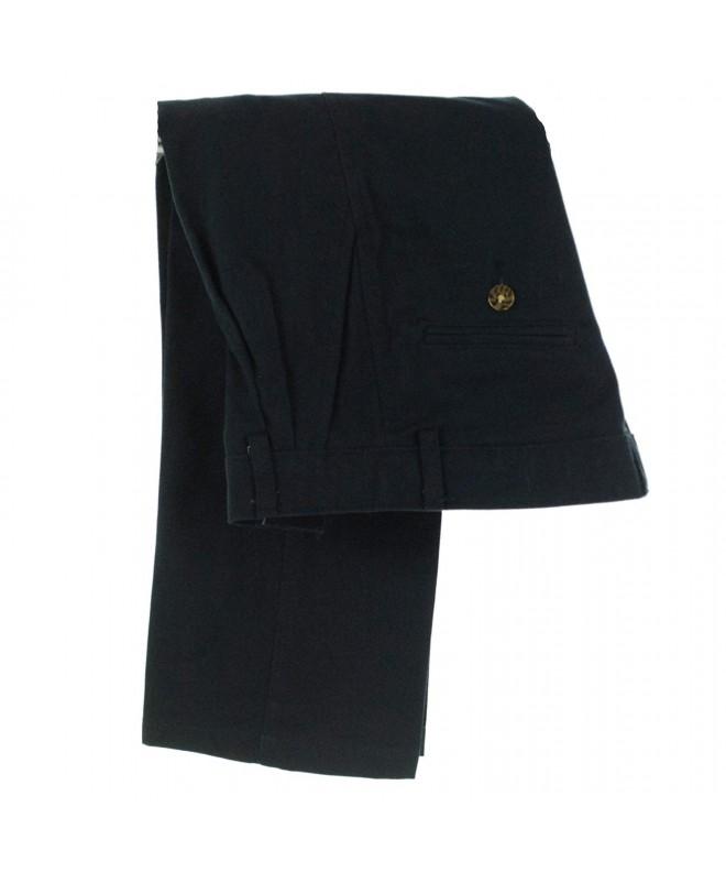 Nautica Boys Pleated Pants Navy