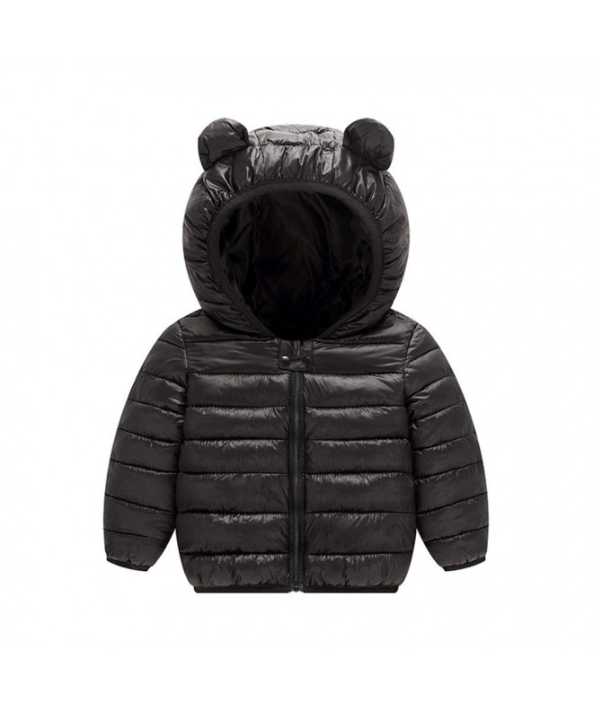 JIANLANPTT Toddler Hooded Winter Outerwear