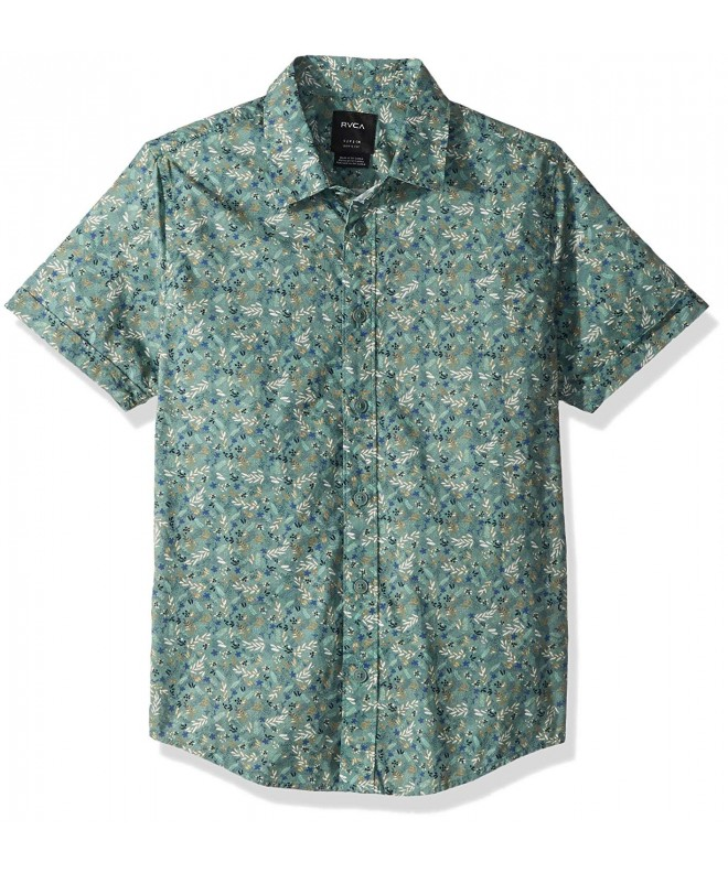 RVCA Makoto Short Sleeve Button