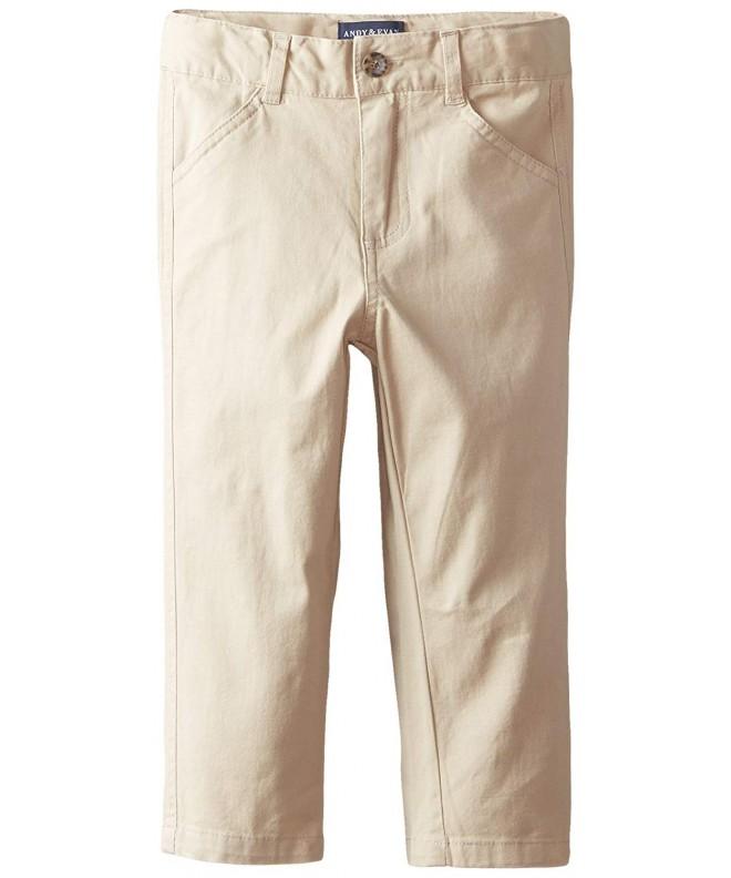 Andy Evan Khaki Twill Pants