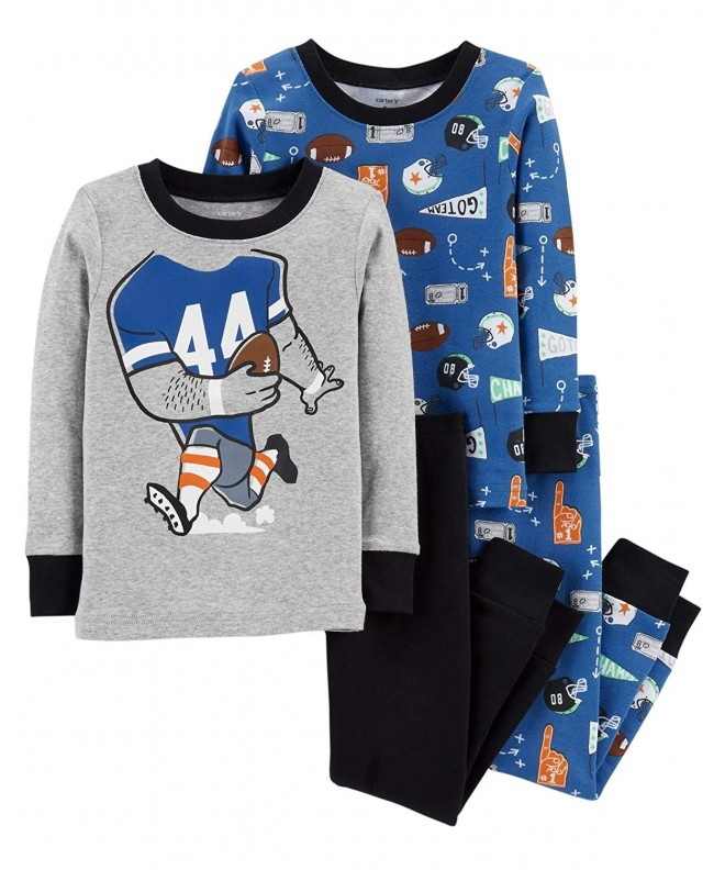 Carters Toddler Pajama Cotton Football