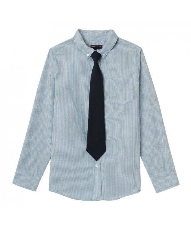 French Toast Sleeve Dress Shirt