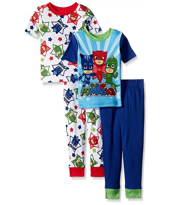 Masks Boys 4 Piece Cotton Pajama