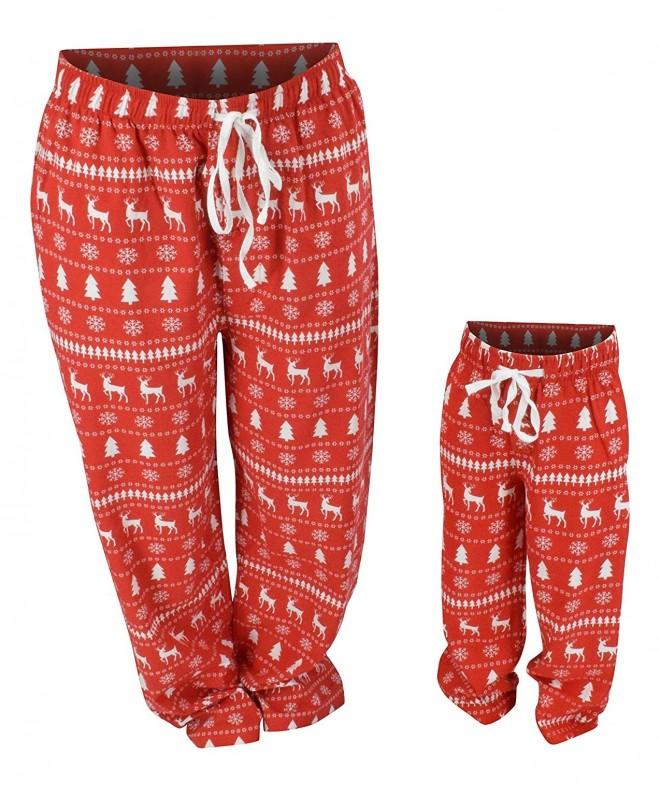 Winter Matching Family Holiday Pajama