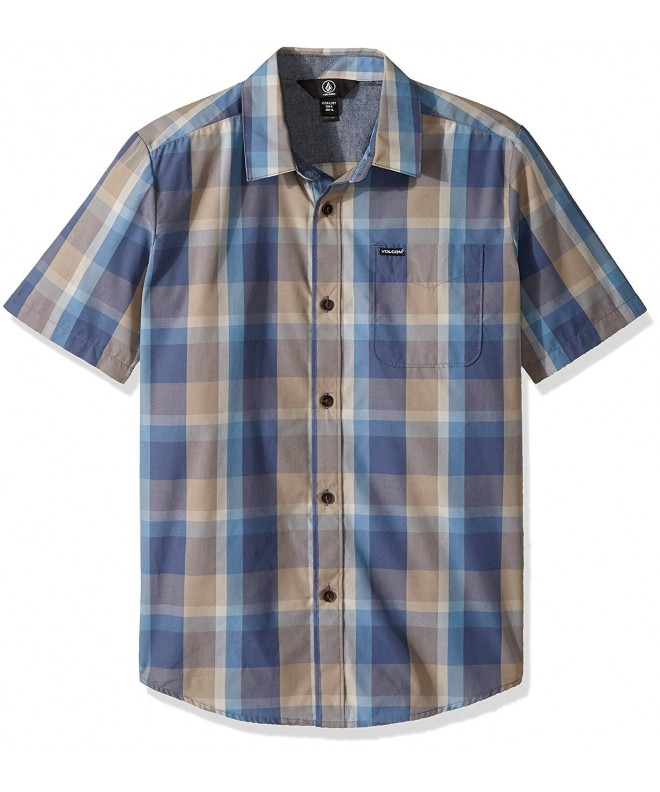 Volcom Woodson Short Sleeve Button
