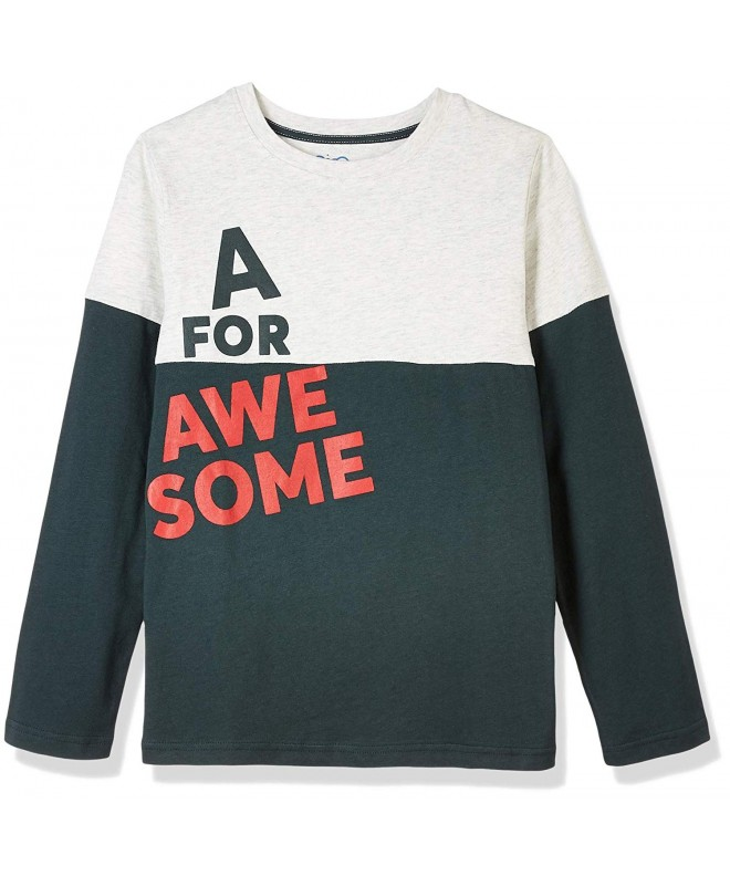 Awesome Youth Boys Colour Blocked Sleeve