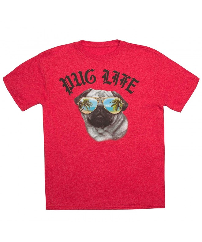 BoysPug Life Short Sleeve Graphic