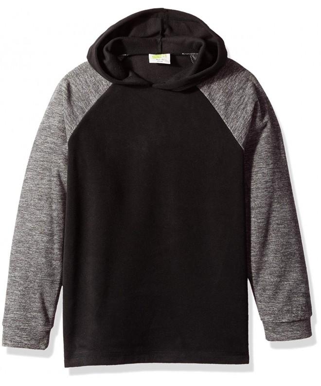Crazy Sleeve Fleece Raglan Hoodie