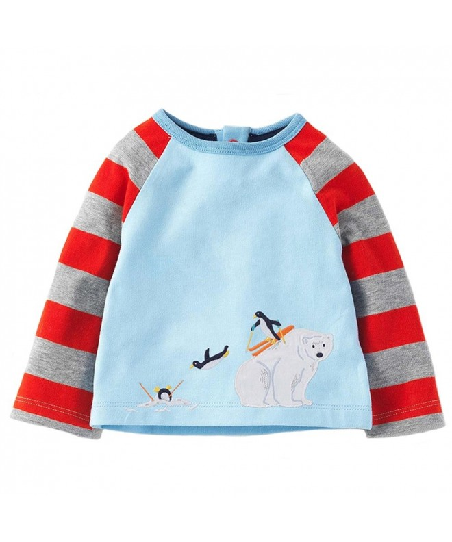 SanReach Little Stripes Pullover Sweatshirt