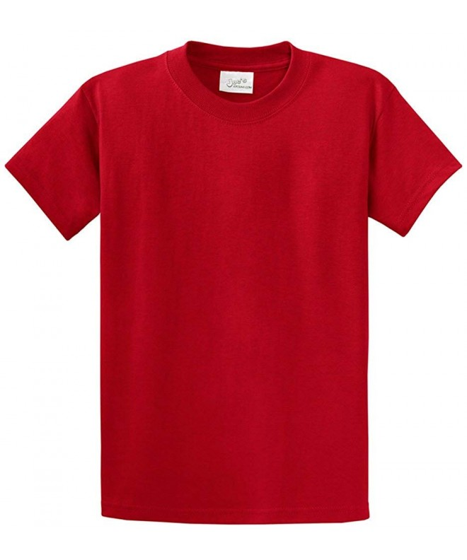 Youth Cotton T Shirts Colors Heavyweight