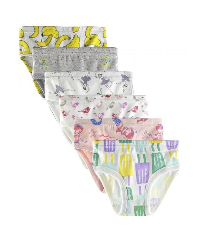 slaixiu Cotton Underwear Toddler Panties