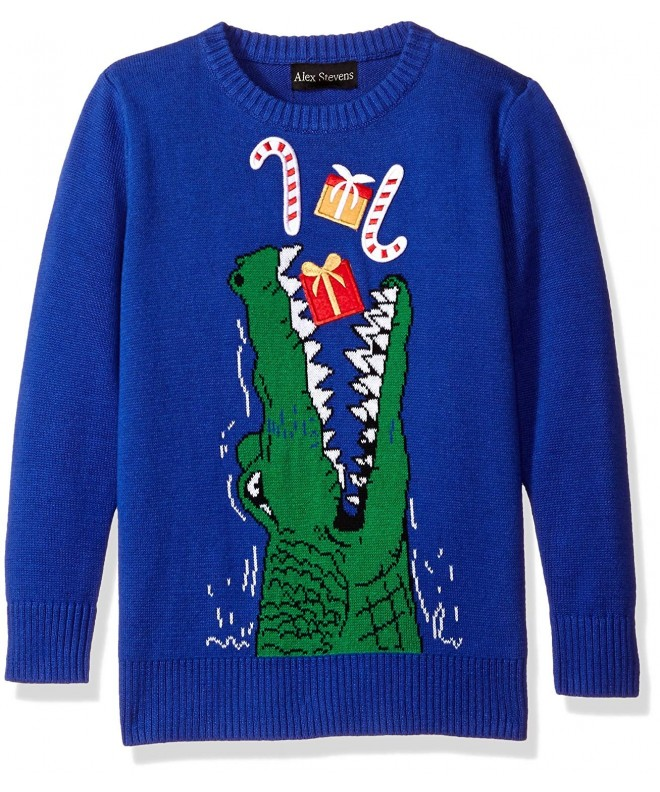 Alex Stevens Gator Gifts Sweater