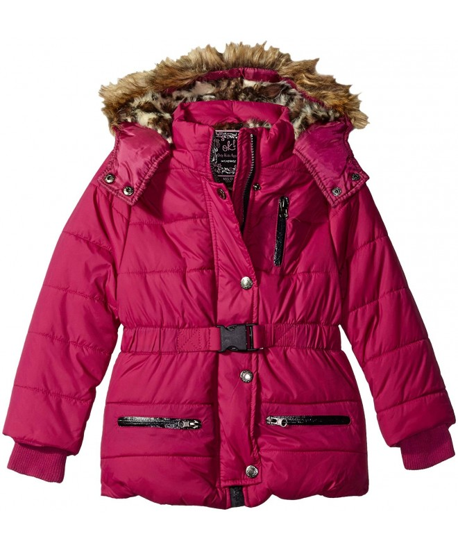 Ok Kids Girls Parka Jacket