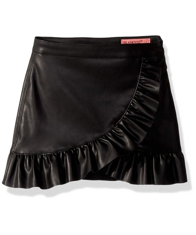 BLANKNYC Girls Leather Skirts Skirt