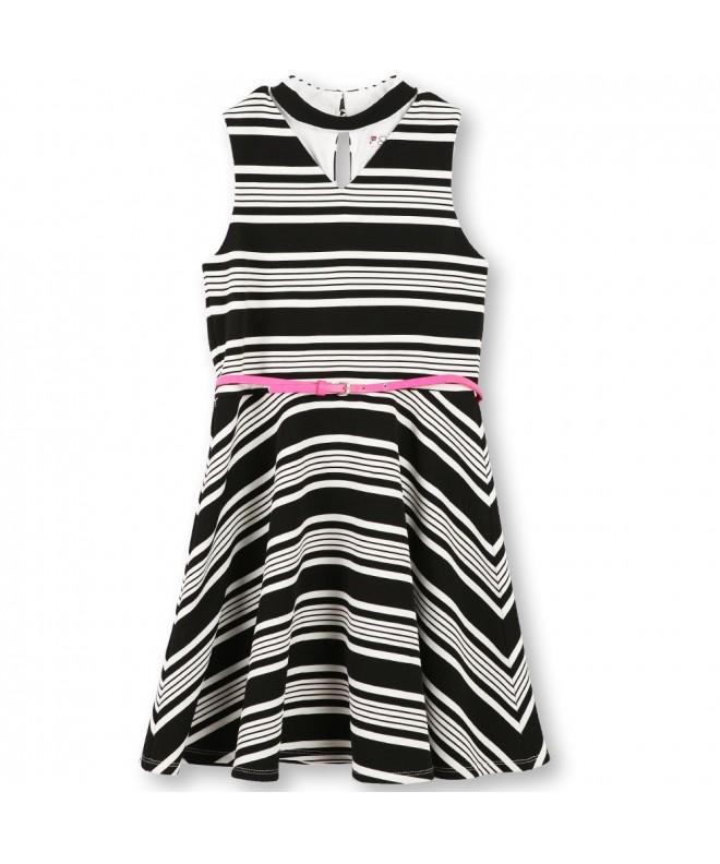 Speechless Girls Chocker Stripe Dress