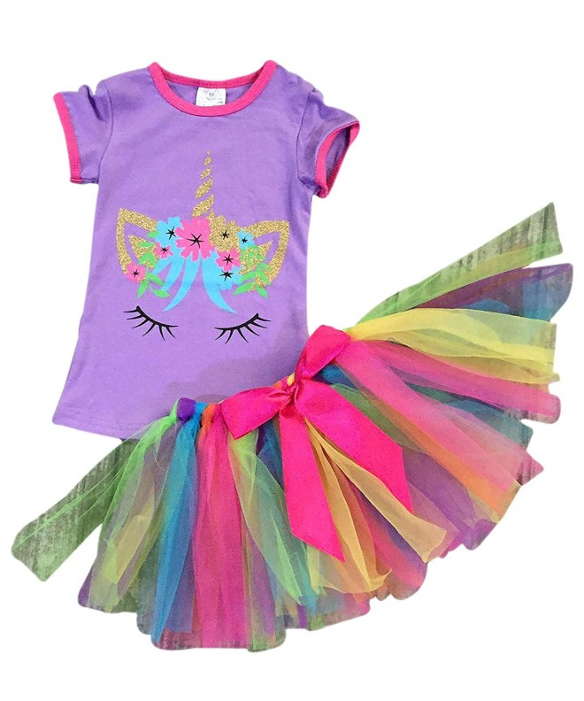 BluNight Collection Unicorn Colorful Clothing