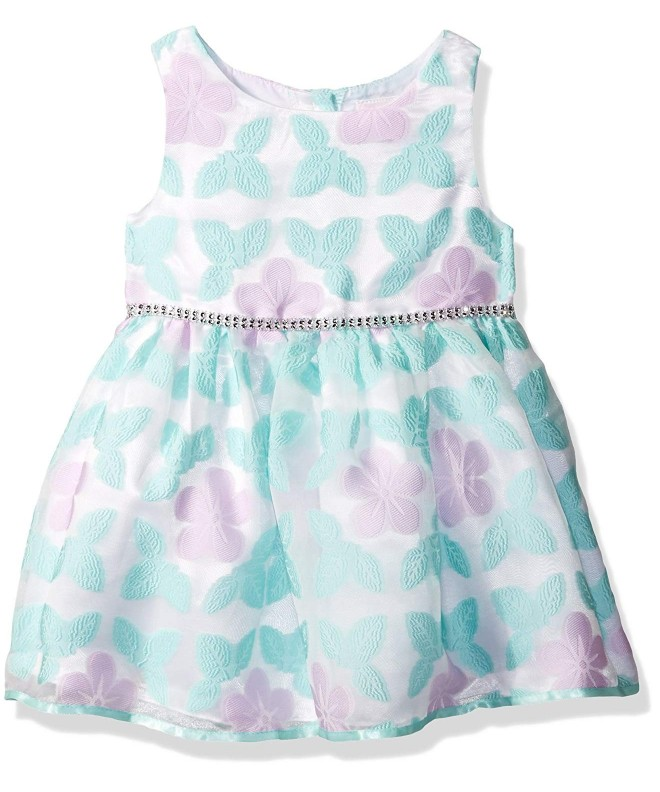 Youngland Girls Butterfly Organza Occasion