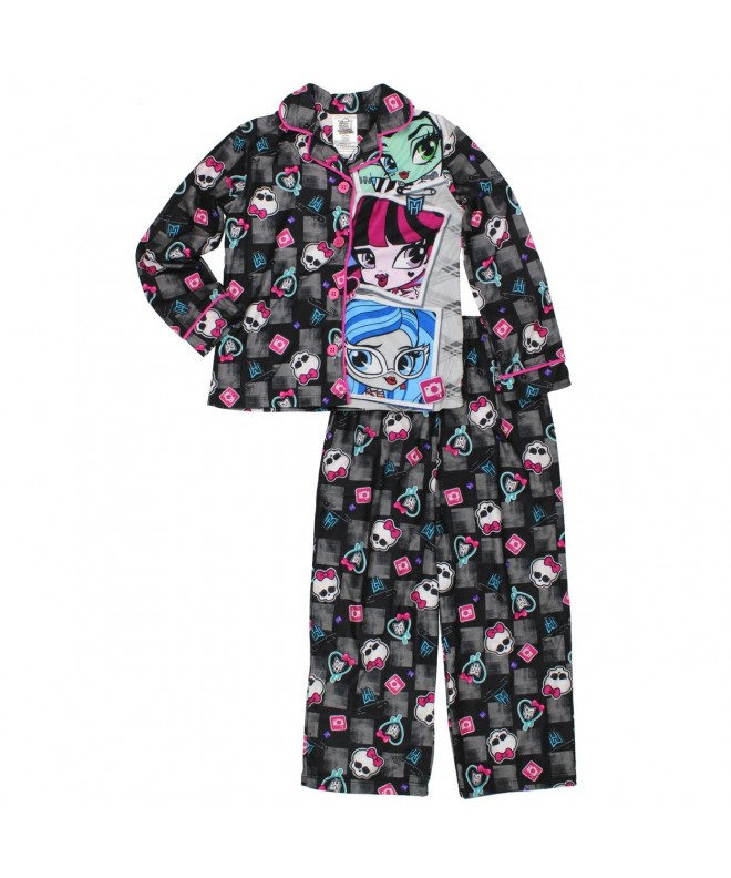 Monster High Flannel Pajama Sleeve