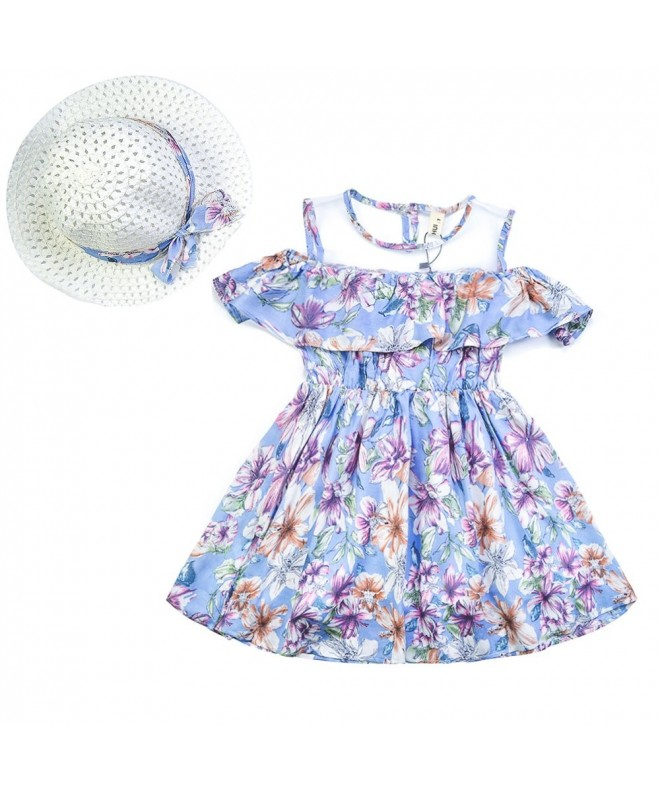 CIELARKO Summer Children Holiday Dresses