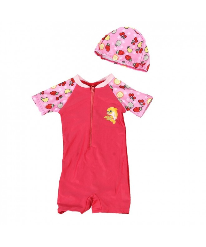 Nosii Girls Swimsuits Children Swimwear