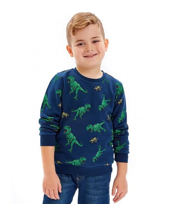 LC Waikiki Dinosaur Sleeve Sweatshirt