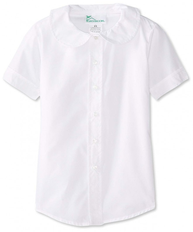 CLASSROOM Girls Short Sleeve Blouse