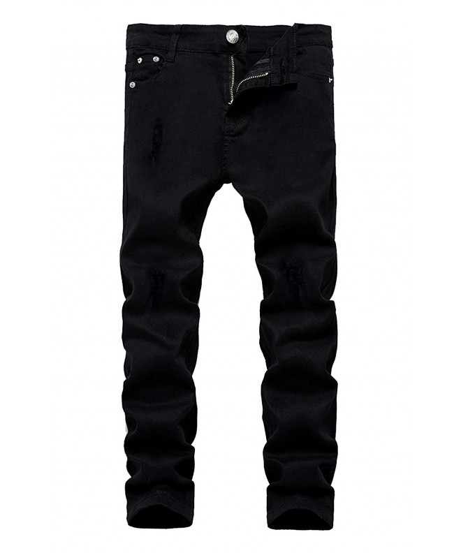 Kihatwin Skinny Destroyed Distressed Stretch