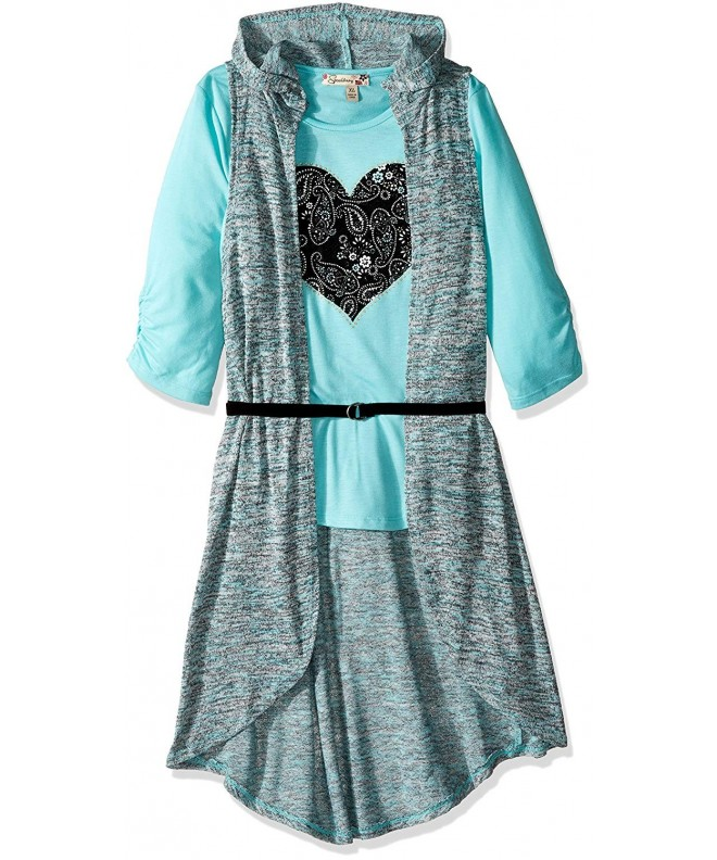Speechless Girls Knit Piece Duster