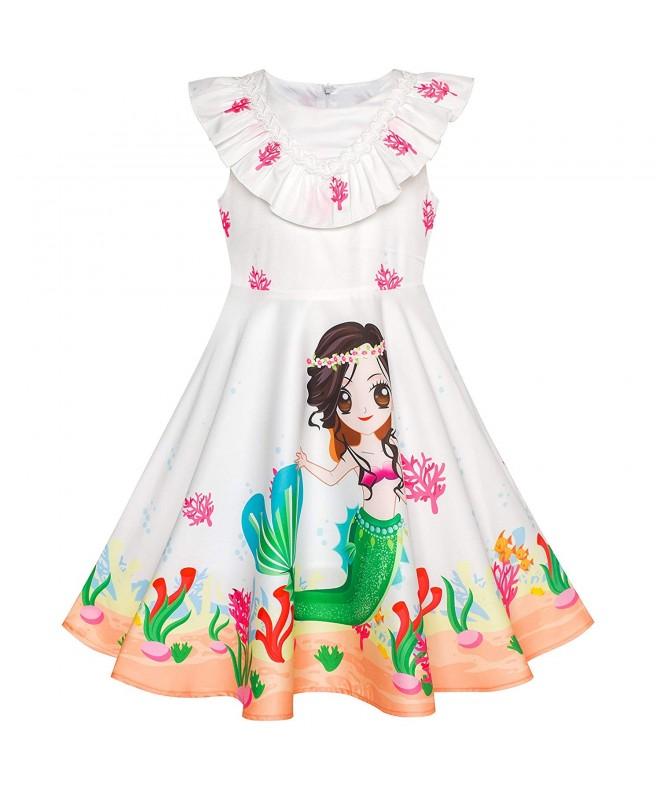 Sunny Fashion Mermaid Cartoon Princess