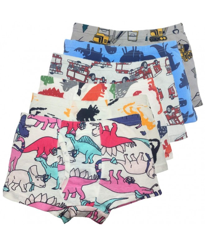 Breathable Dinosaur Cotton Boxer Underwear