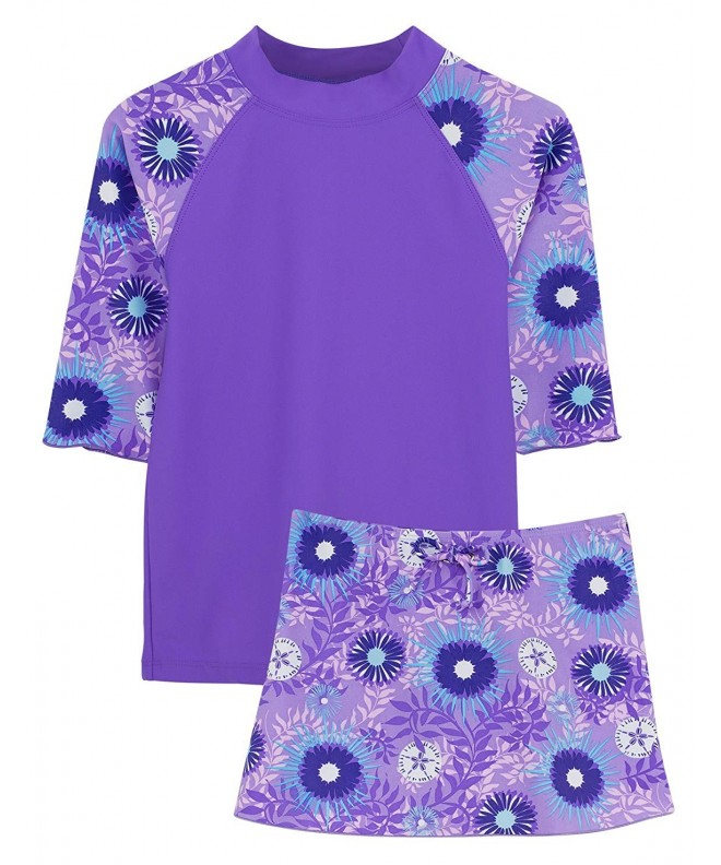 Tuga Girls Three Piece Bathing Protection
