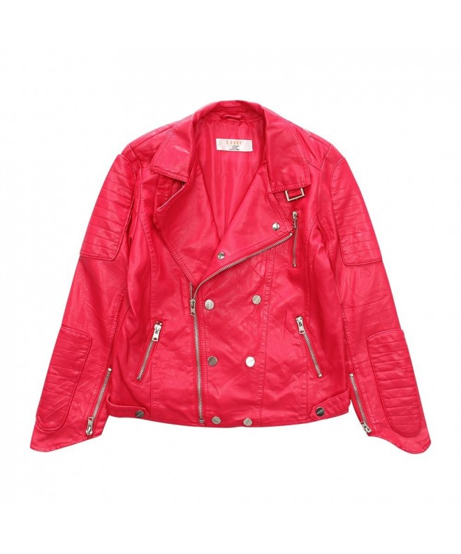 LJYH Children Fashion Leather Jacket